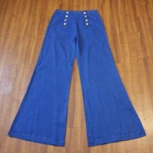 Denim - Denim Flare Leg Jeans
